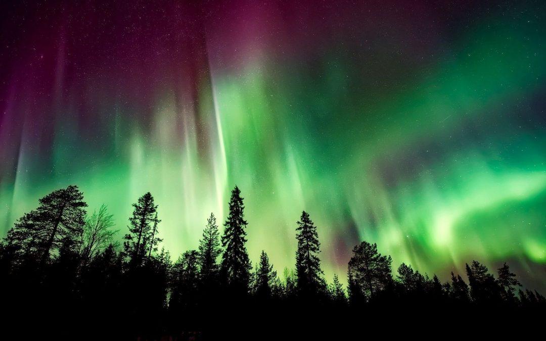Vivre les aurores boréales à Kuujjuaq