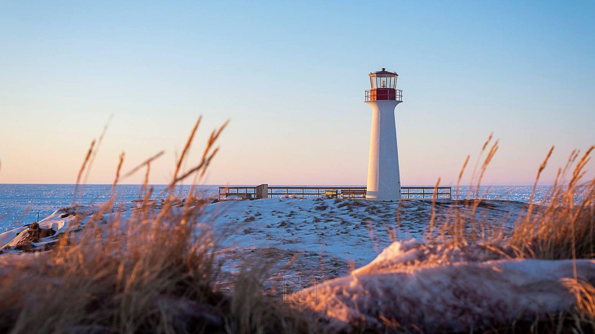 Aventure hivernale aux Îles de la Madeleine